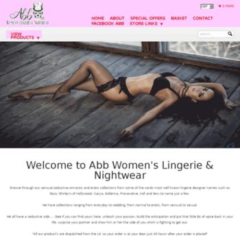 Abb-womens-lingerie-nightwear.co.uk thumbnail