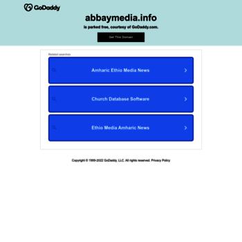 abbaymedia com at WI  Abbay Media | Abbay Media – Ethiopia News