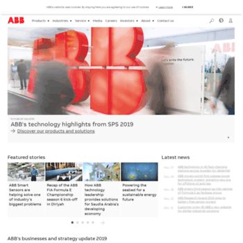 ABB Group Leading digital technologies for industry