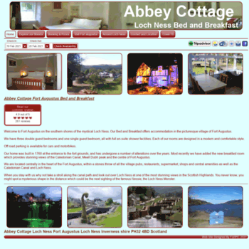Abbeycottagelochness.co.uk thumbnail