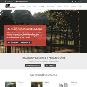 Abdironworld At WI Ottawa Fence Gates Railings