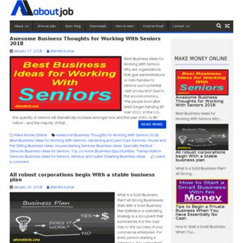 Aboutjob.org thumbnail