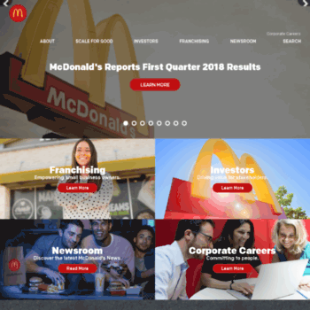 Aboutmcdonalds.com thumbnail