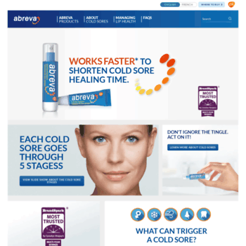 Abreva At Wi Works Faster To Shorten Cold Sore Healing Time