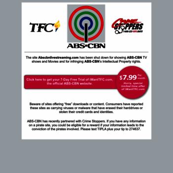 abscbn-teleserye com at WI  ABS-CBN Corporation, et al  v