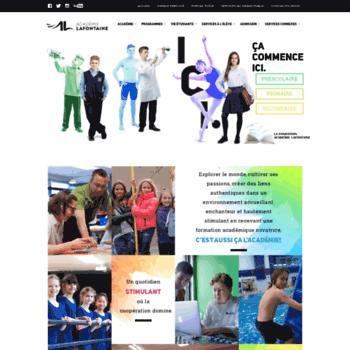 Academielafontaine.qc.ca thumbnail