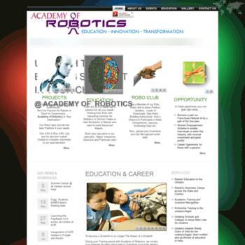 Academyofrobotics.net thumbnail
