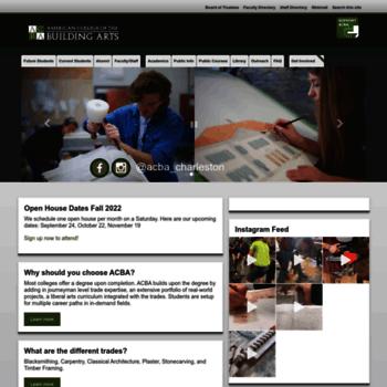 Acba.edu thumbnail