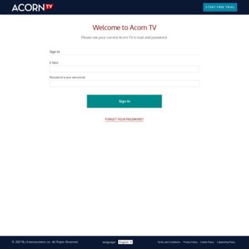account acorn tv at WI  Acorn TV | Watch the Best British TV