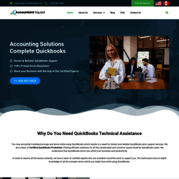 accountantsquad com at WI  QuickBooks Technical Support and