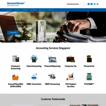 Accountserve.com.sg thumbnail