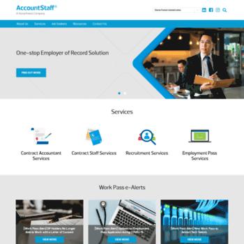 Accountstaff.com.sg thumbnail
