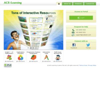 Ace-learning.com.sg thumbnail