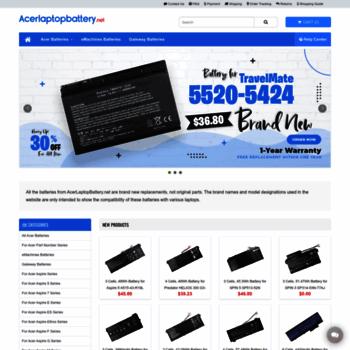 Acerlaptopbattery.net thumbnail