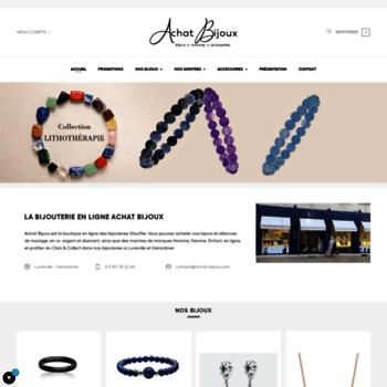 achat le plus récent qualité supérieure sélectionner pour officiel achat-bijoux.com at WI. Achat Bijoux, votre bijoutier ...