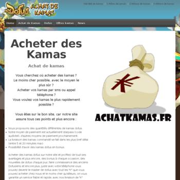 Achatkamas.fr thumbnail
