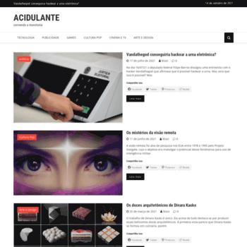 Acidulante.com.br thumbnail