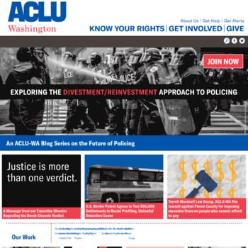 Aclu-wa.org thumbnail