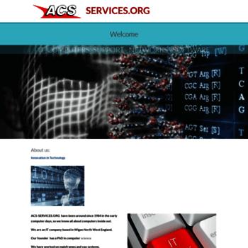 Acs-services.org thumbnail