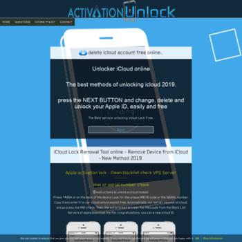 Activationunlock.info thumbnail