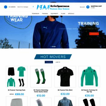Activesportswear.ie thumbnail