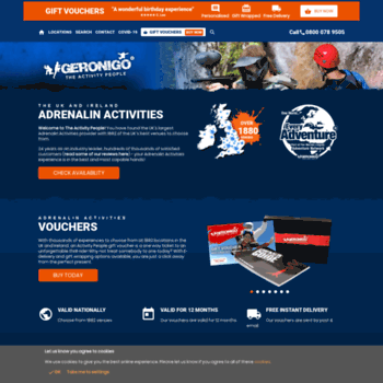 Activitysearch.co.uk thumbnail