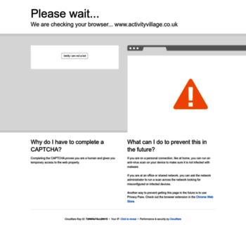 Activityvillage.co.uk thumbnail
