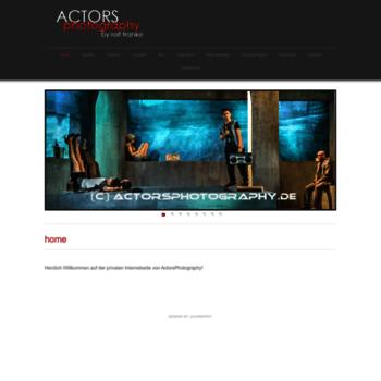 Actorsphotography.de thumbnail