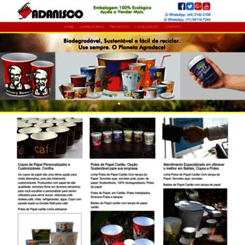Adanisco.com.br thumbnail