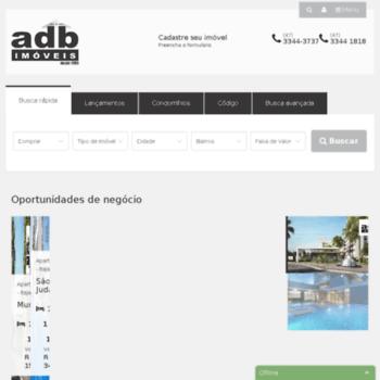 Adbimoveis.com.br thumbnail