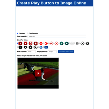 addplaybuttontoimage way4info net at WI  Add Play Button to