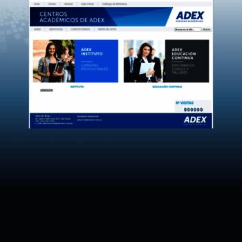 Adexperu.edu.pe thumbnail