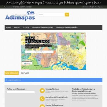 Adimapas.com.br thumbnail