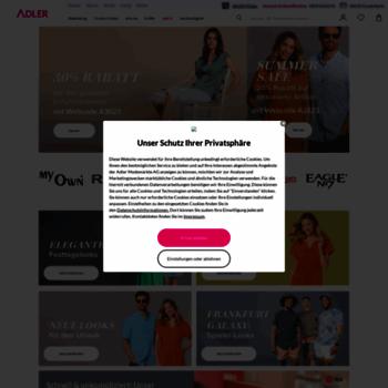 Rabatt ADLER Mode | Mode für Damen, Herren, Kids & große