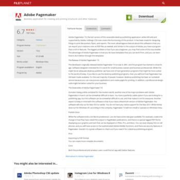 adobe 7.0 pagemaker free download