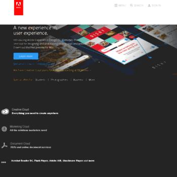Adobesystems.ca thumbnail