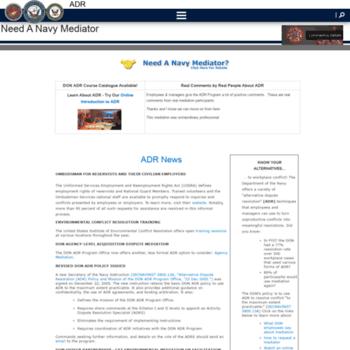 Adr.navy.mil thumbnail