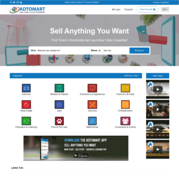 adtomart com at WI  AdToMart - Free Classified Ads Sites | Most