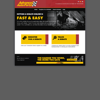 Advance Auto Parts 4myrebate Com >> Advanceautoparts 4myrebate Com At Wi Rebate Center