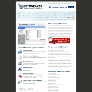 advanced-pc-tweaker com at WI  Advanced PC Tweaker - A