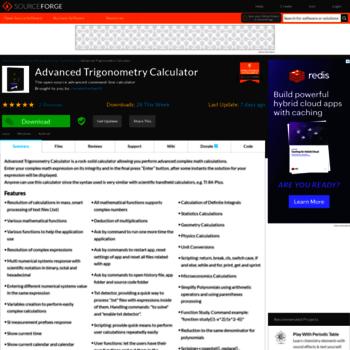 Advantrigoncalc.sourceforge.net thumbnail