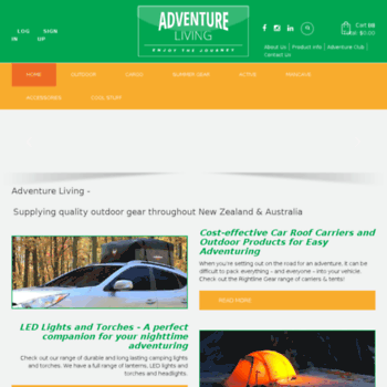 Adventureliving.co.nz thumbnail