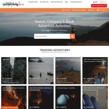 Adventures365.in thumbnail