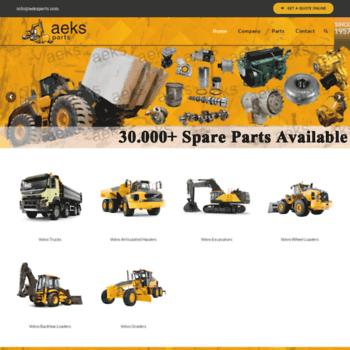 aeksparts com at WI  AEKS Parts | Volvo Construction Equipment Parts