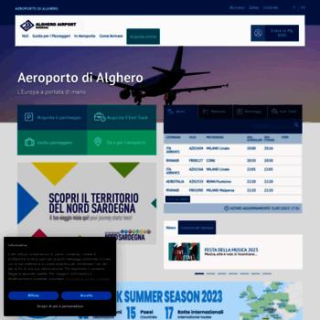 Aeroportodialghero.it thumbnail