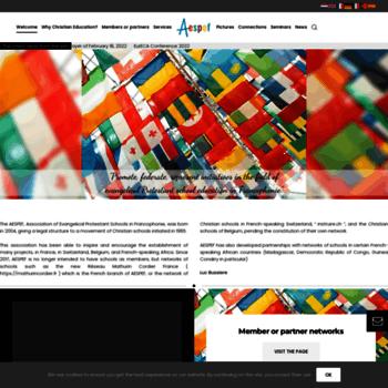 Aespef.org thumbnail