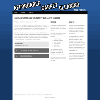 Affordablecarpetcleaning.co.nz thumbnail