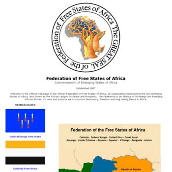 Africafederation.net thumbnail