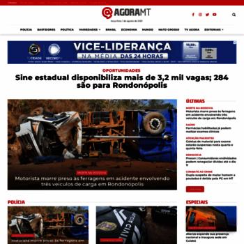 Agoramt.com.br thumbnail