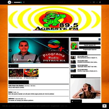 Agrestefm89.com.br thumbnail